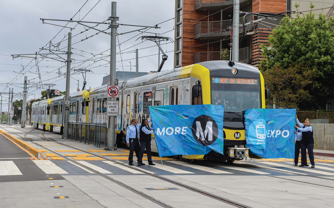Los Angeles:  Light rail to the beach – and beyond