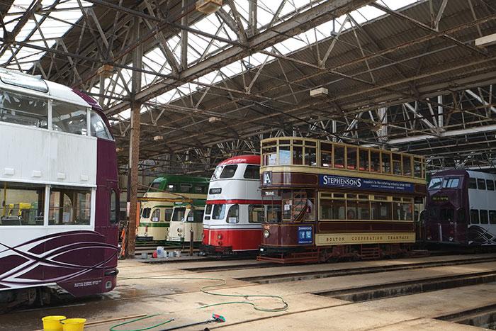 Ffestiniog Travel – 2017 dedicated tram tours