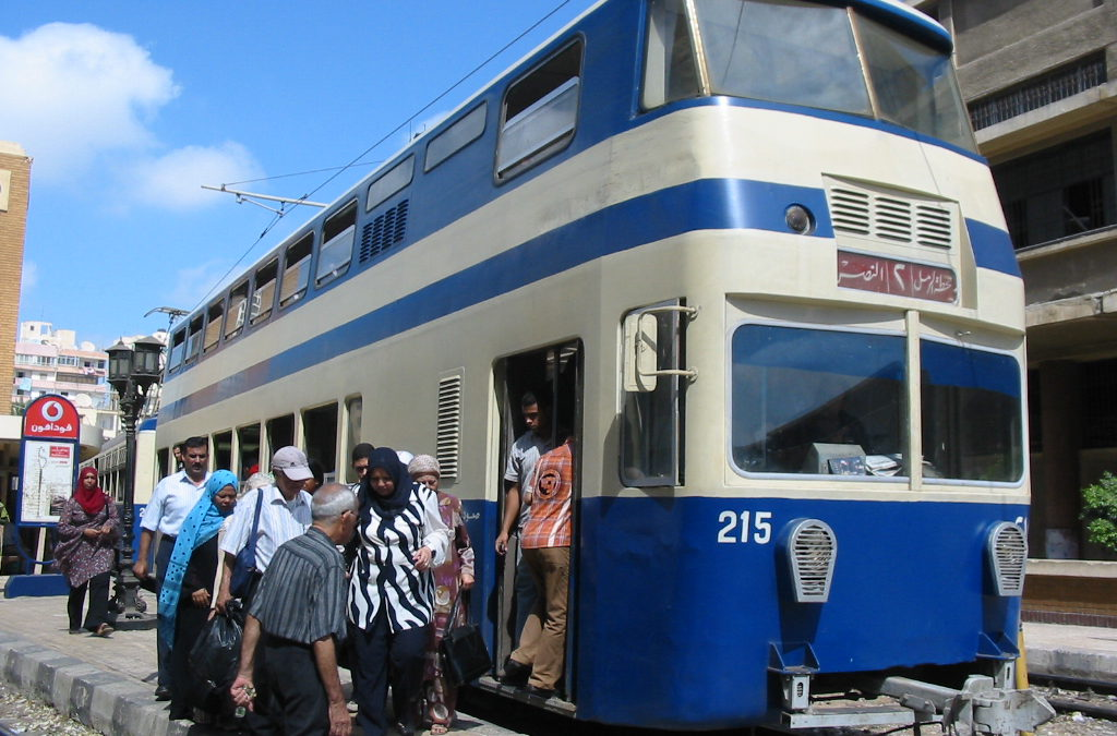 French co-operation to rehabilitate Alexandria's Ramlh line