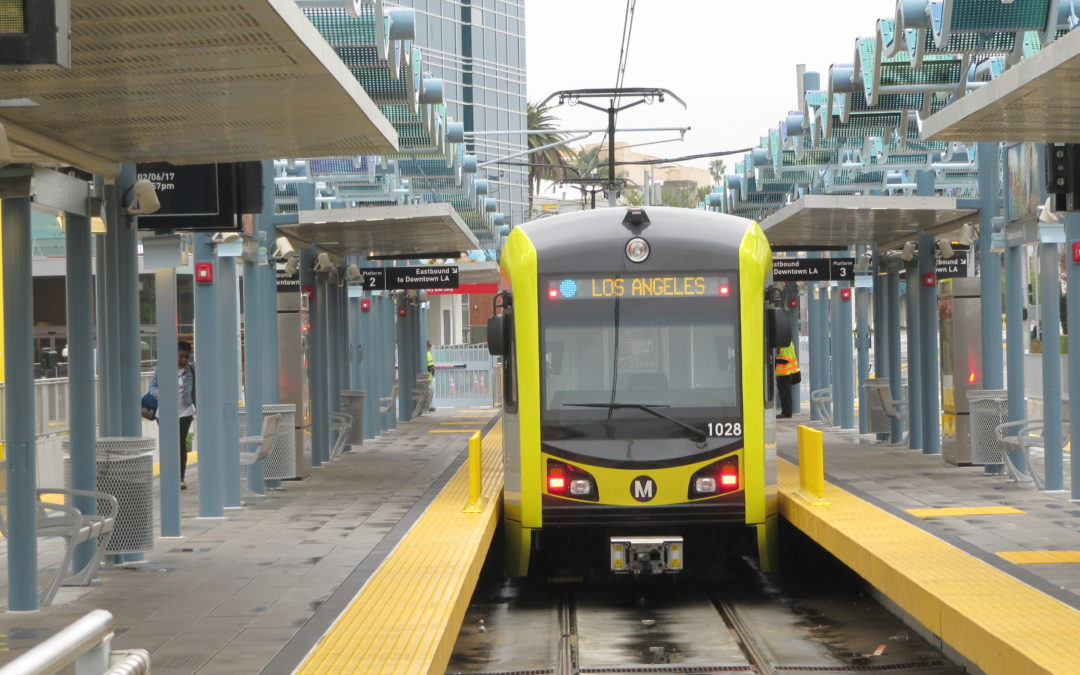 L.A. light rail on the move