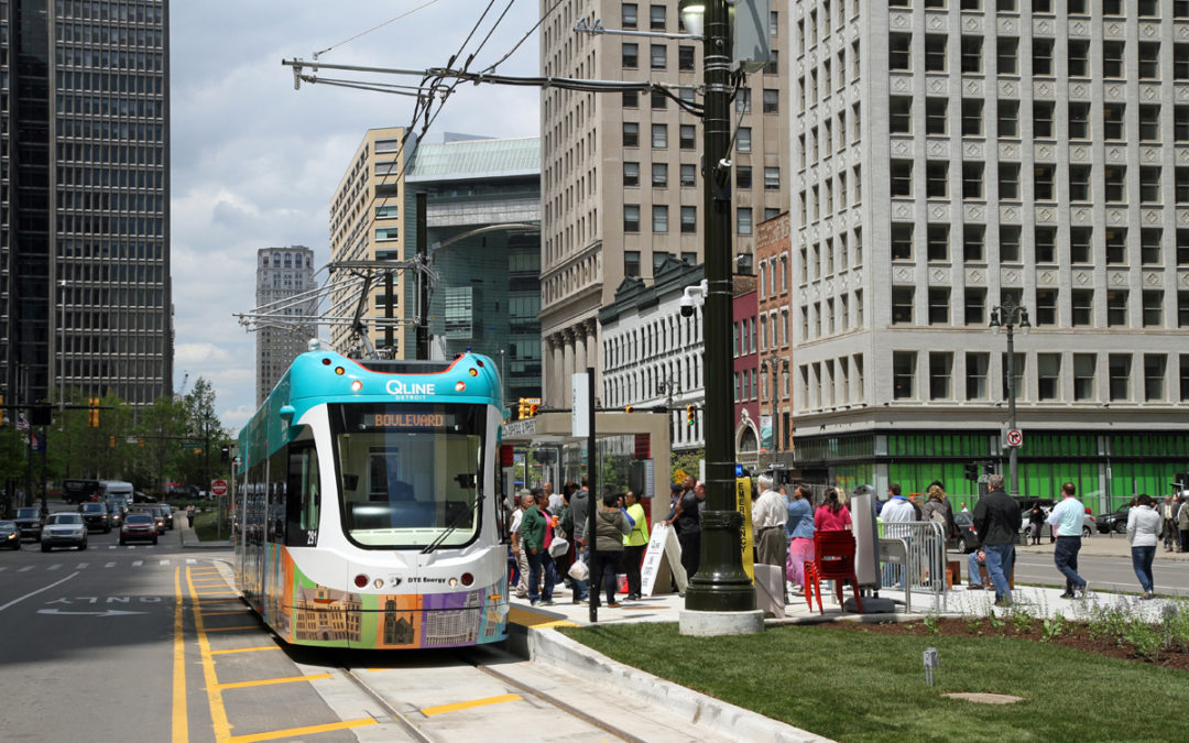 Streetcars return to Motor City