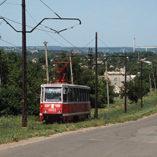 Kramatorsk trams make their final run