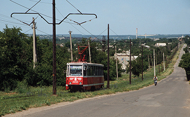 Kramatorsk trams make their final run