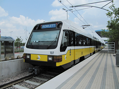 Dallas: The US urban rail pathfinder