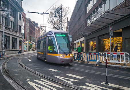 Dublin opens Luas Cross City line