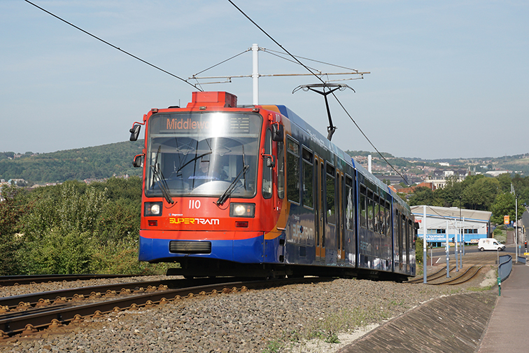 Tramway current demand