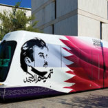 TIG/m delivers third tram to Doha
