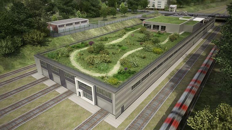 Hamburg's green depot