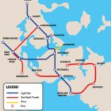 Auckland transport plan includes light rail
