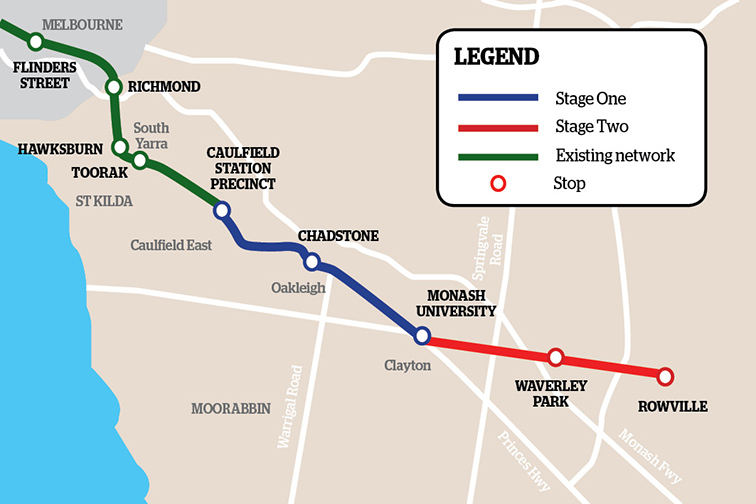 Melbourne to study 'missing link' tramline to south-eastern suburbs