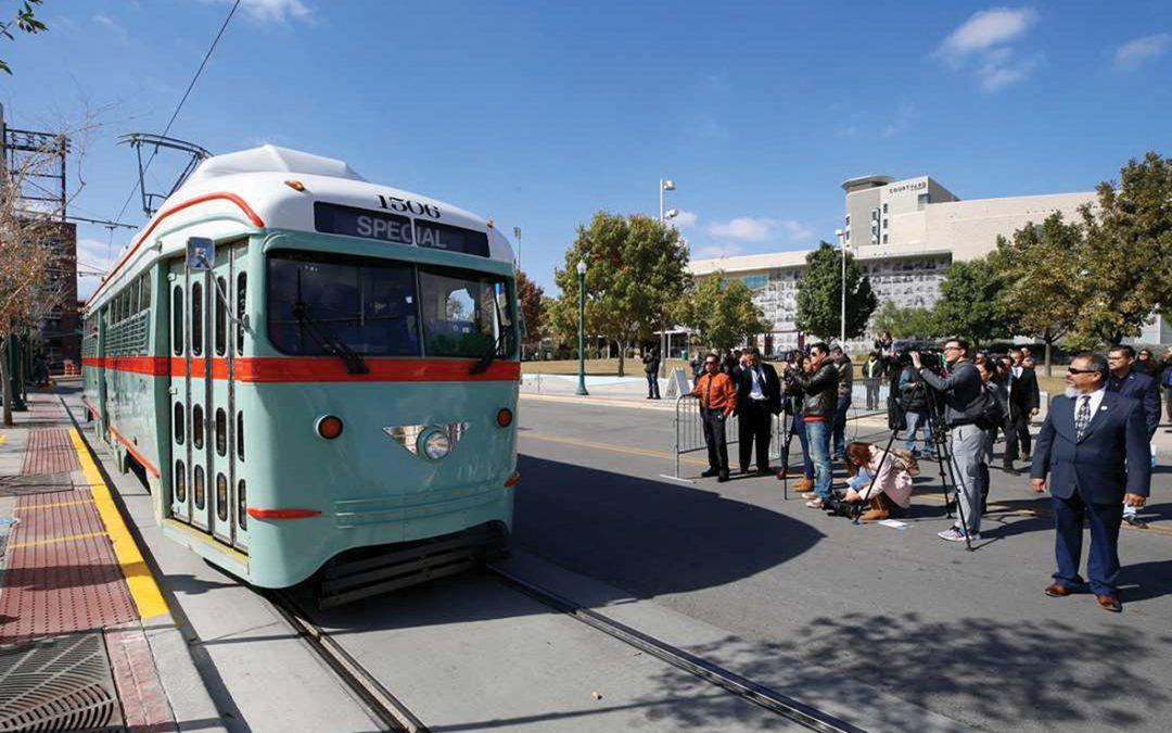 Trams return to El Paso