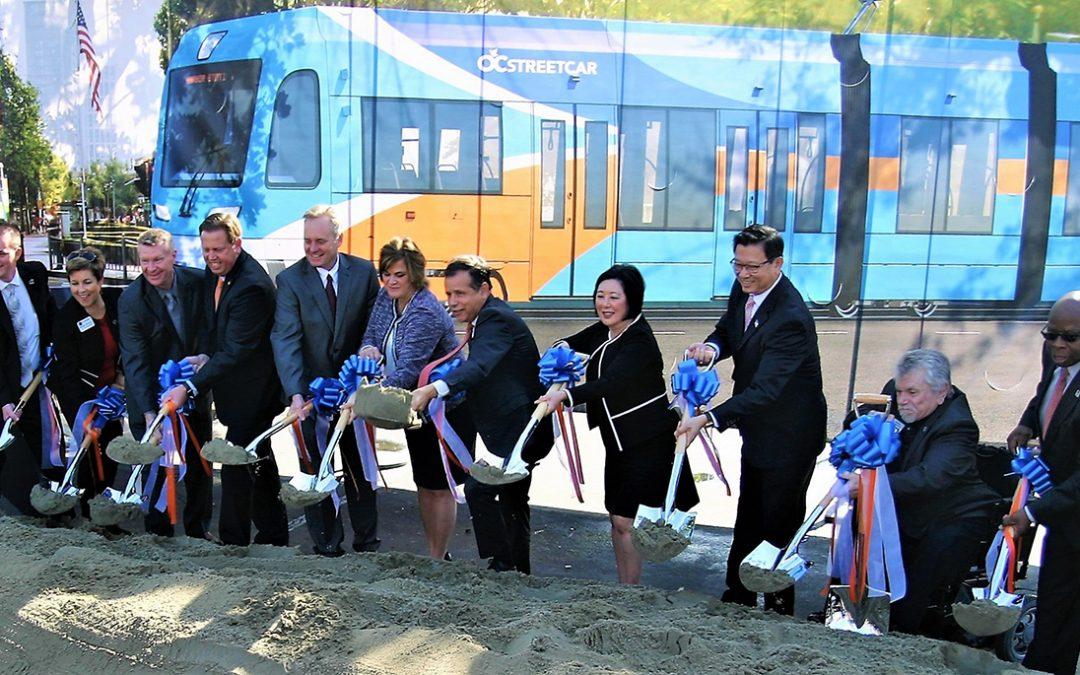 Work begins on Santa Ana Streetcar
