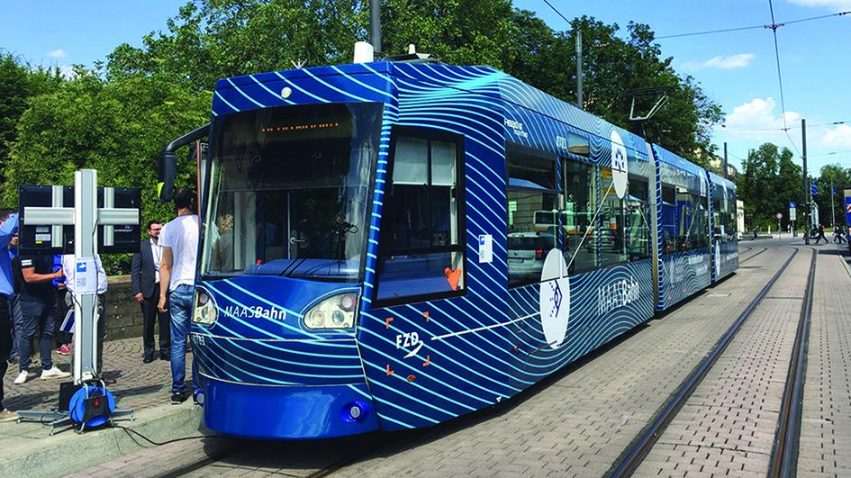 Darmstadt's autonomous tram trial