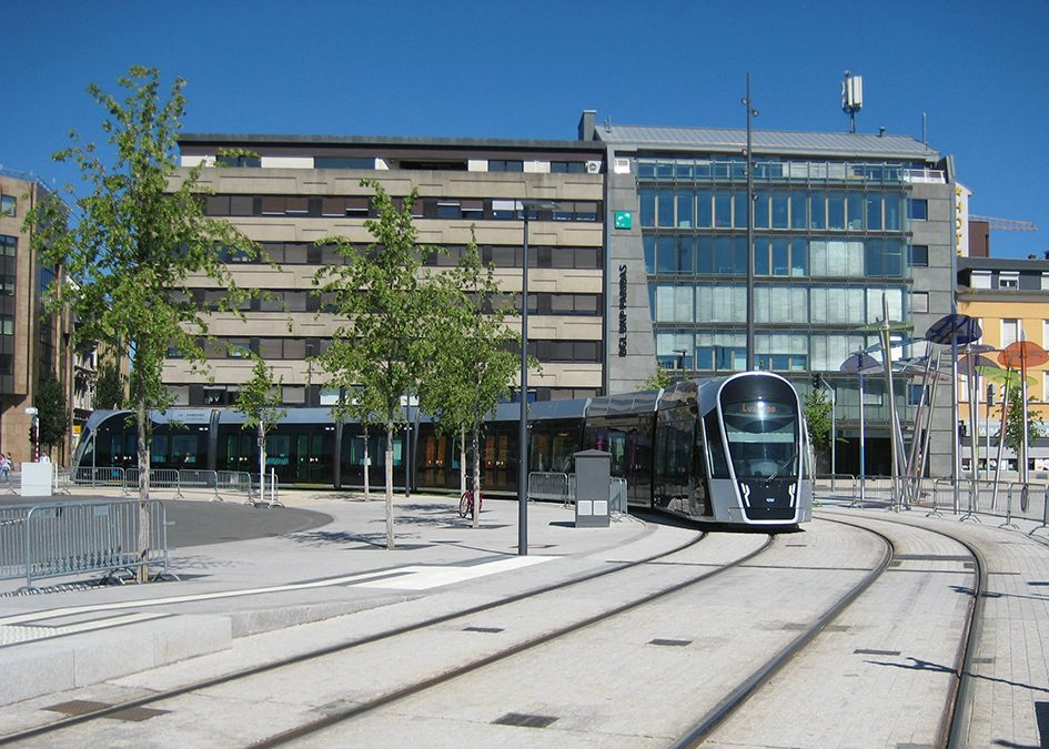 Next generation tramways: Luxembourg