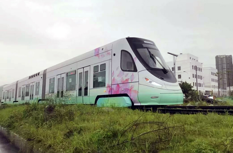 Foshan fuel cell tramway enters final testing phase
