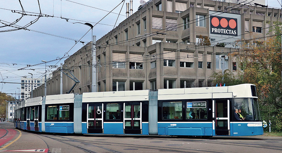 Zürich receives first new Flexity tram