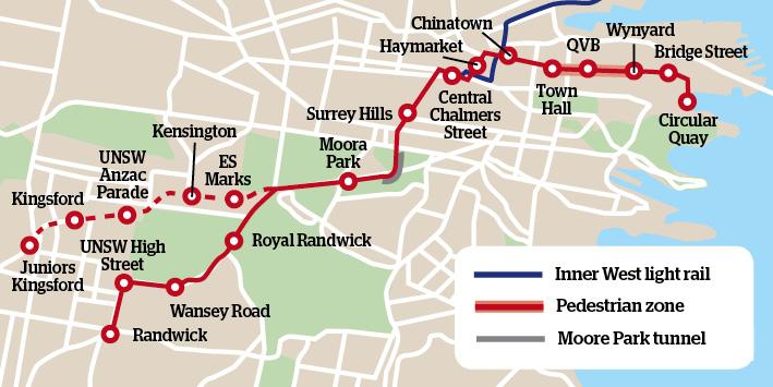 Sydney opens South East Light Rail