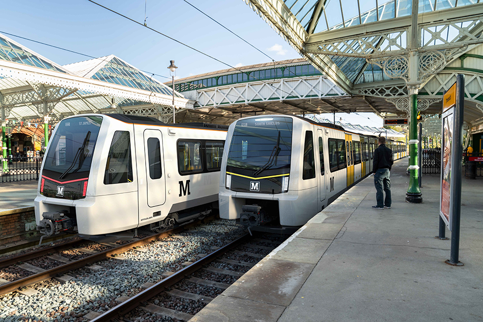 Stadler wins Tyne and Wear Metro contract