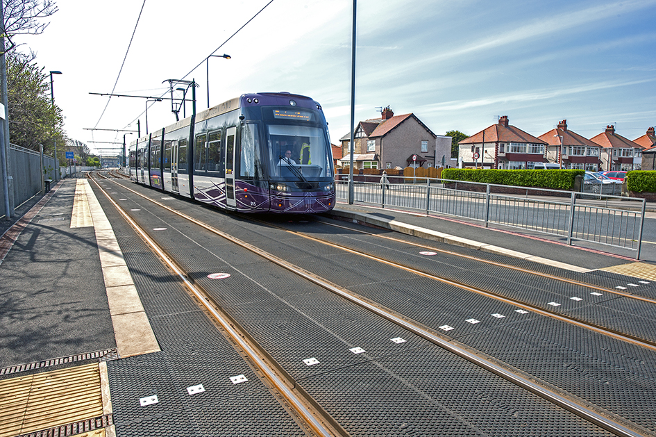 Tramway crossings