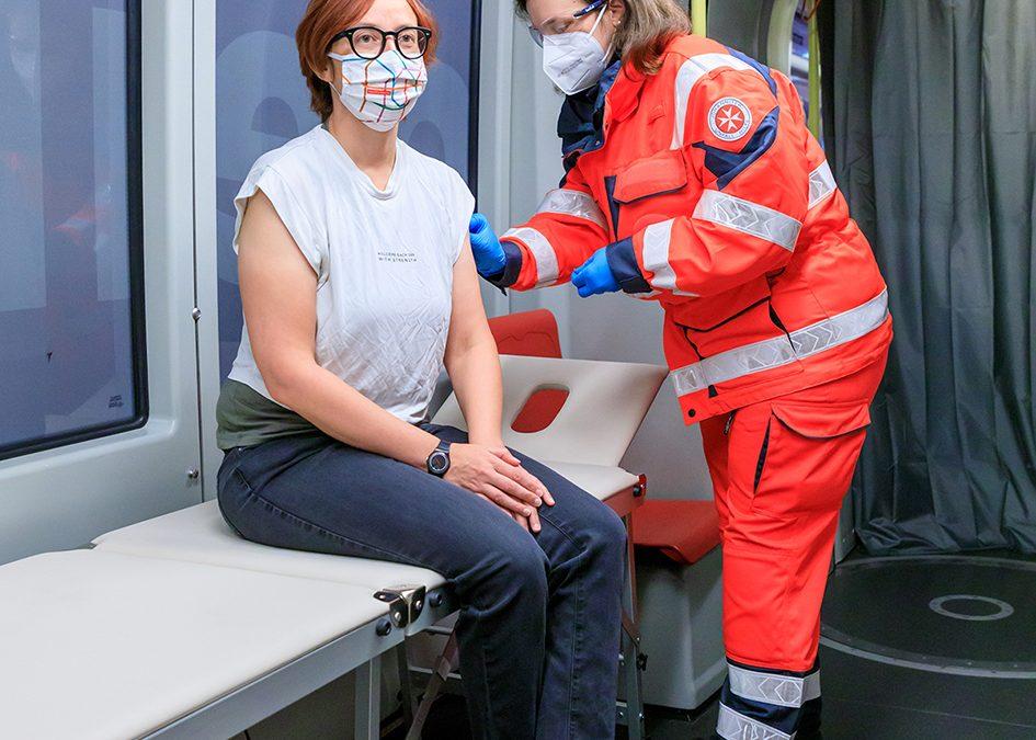 Wien's 'vaccination tram'