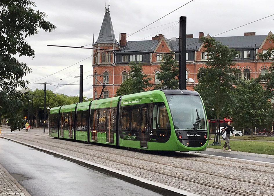 Lund: Sweden's newest tramway city