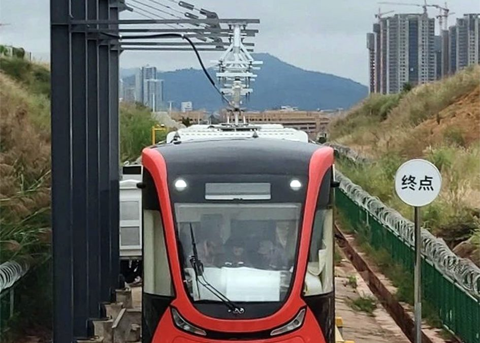 Wenshan tramway to open in April