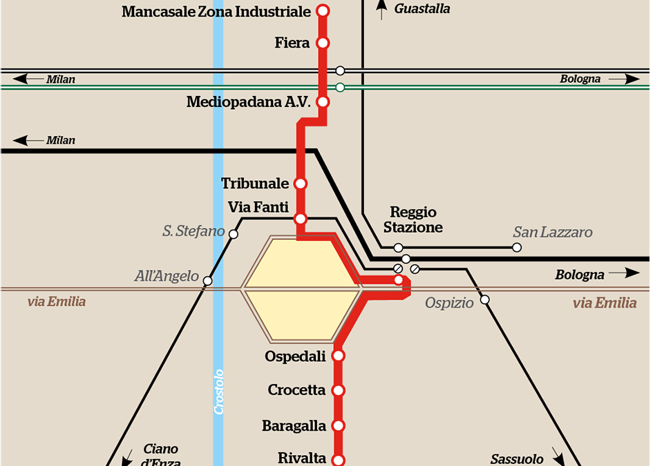Reggio Emilia plans its first tramline