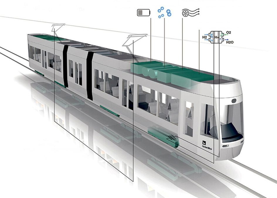 HeiterBlick plans Europe's first low-floor fuel cell tram