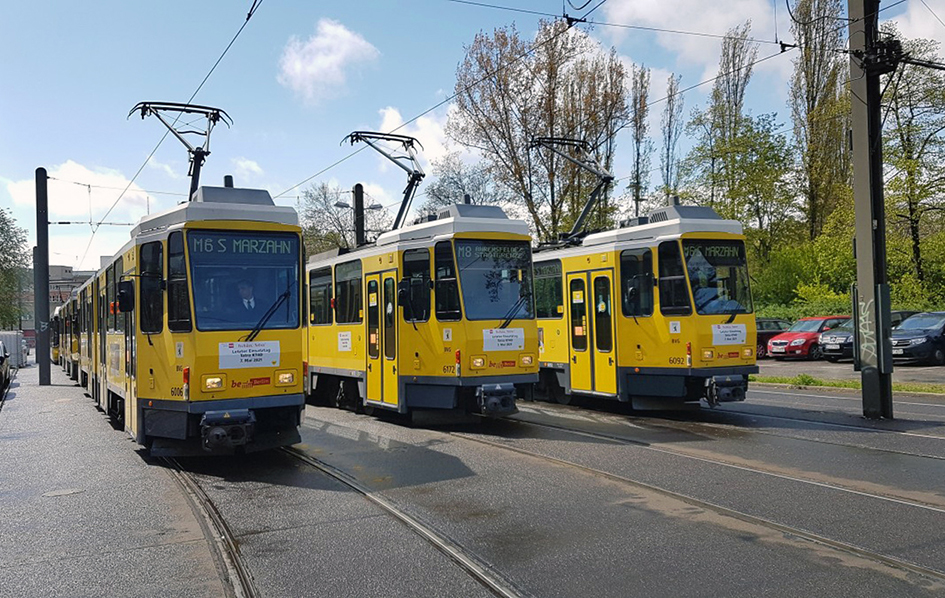 Berlin's last Tatras