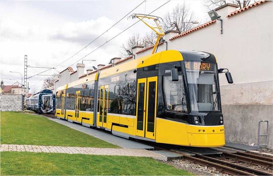 Plzeń plans autonomous tram trials by 2027