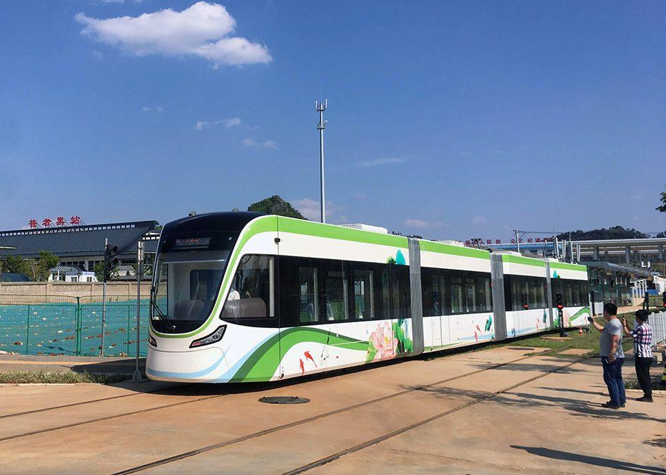 Wenshan welcomes China's newest tramway